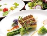 本日のお魚料理(国産小麦のパン付き)