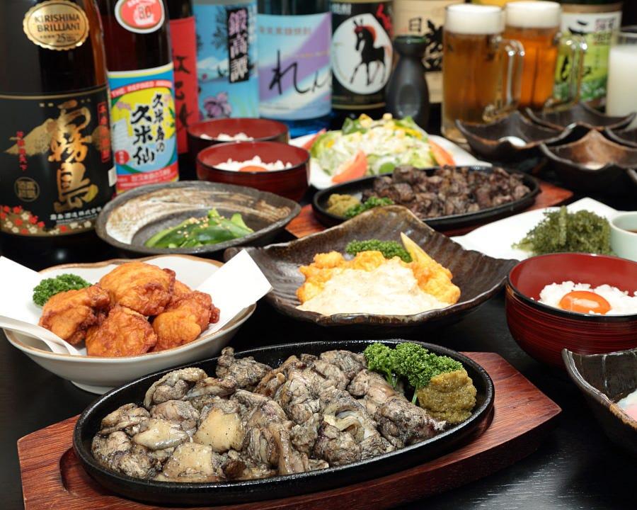 「沖縄料理」と「鶏料理」の融合
