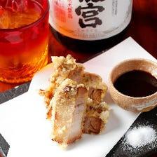 店長自慢の創作沖縄料理
