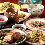 厳選沖縄料理がふんだんに楽しめる「やんばるコース」