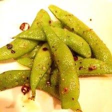 【オススメ】枝豆のペペロンチーノ