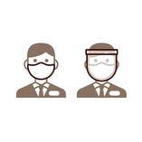 【2】従業員はマスク、フェイスシールド、手袋を着用しております
