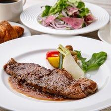 US産牛ロースステーキ食べ放題