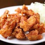 国産もも肉使用、若鶏の唐揚げ
