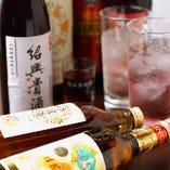 中華料理にぴったりの紹興酒・果実酒を豊富にご用意