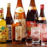 飲み物も豊富にそろえております