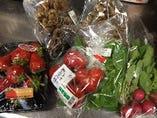 地元伊勢崎産の食材をふんだんに使ったお料理コースでおもてなし!