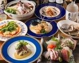 いよいよ、忘年会シーズンスタート!地元伊勢崎産の食材と海の幸をふんだんに使った、ご宴会コースをどうぞ!