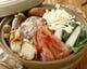 《 海鮮鍋 》お出汁は、ポン酢、塩麹味噌、キムチチゲ、正油選