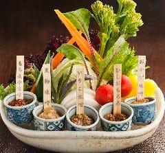 郷土の味噌 野菜桶