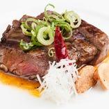 牛フィレ肉の極上ステーキ