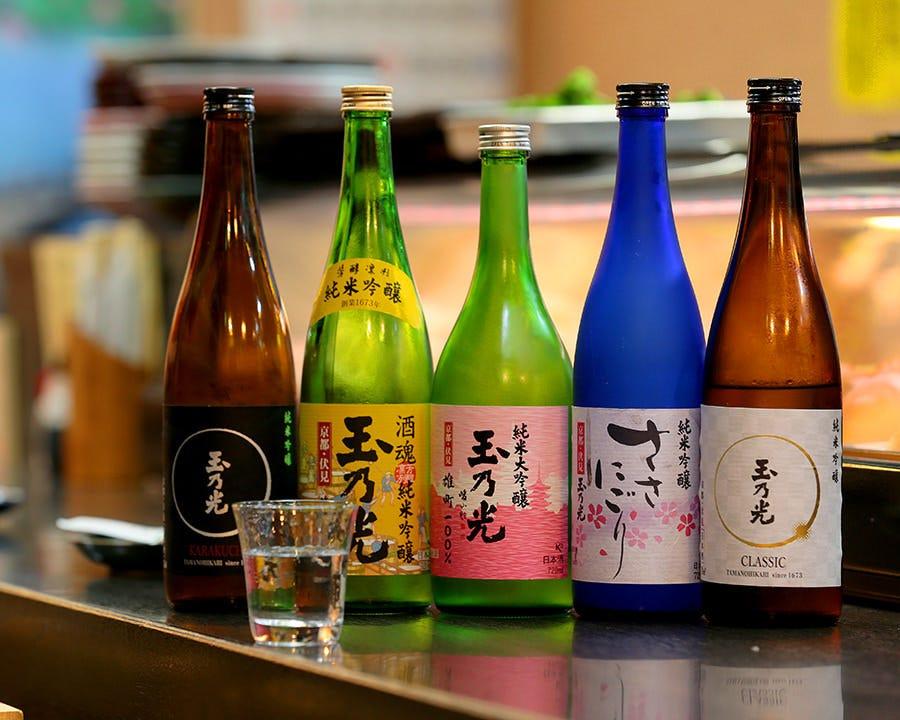 季節の旬 日本酒で乾杯しませんか