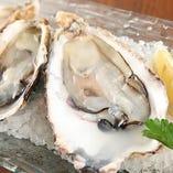 2種の産地の生牡蠣食べ比べ