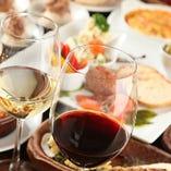 ワインに合う逸品料理多数!