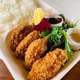 広島県産牡蠣フライ弁当