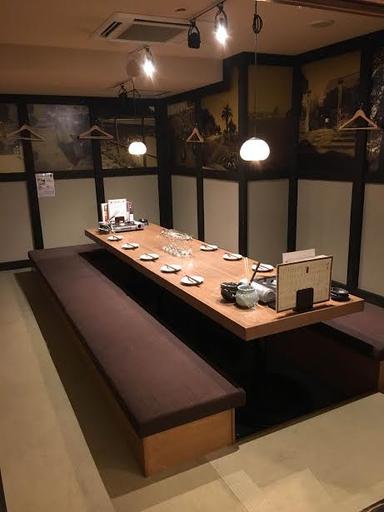 宮崎県日南市 塚田農場 水戸駅北口店 店内の画像