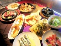 【お料理のみ】ディナータイム限定★3800円コース