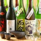 三重県全域の旬銘酒を多数ご用意。まずは利き酒セットをどうぞ!