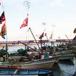 尾鷲漁港・紀伊長島漁港を中心に、朝獲れ鮮魚を独自ルートで直送