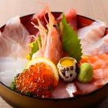 『喜水丼』1日30食限定!1100円