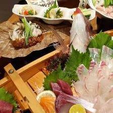 徳島産の新鮮な魚介多数