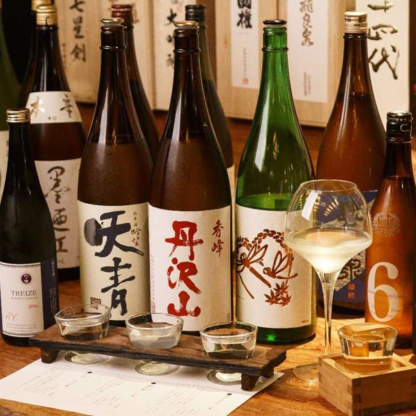 お魚料理には美味しい日本酒