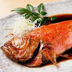 【銚子産釣り金目】金目鯛 姿煮付け