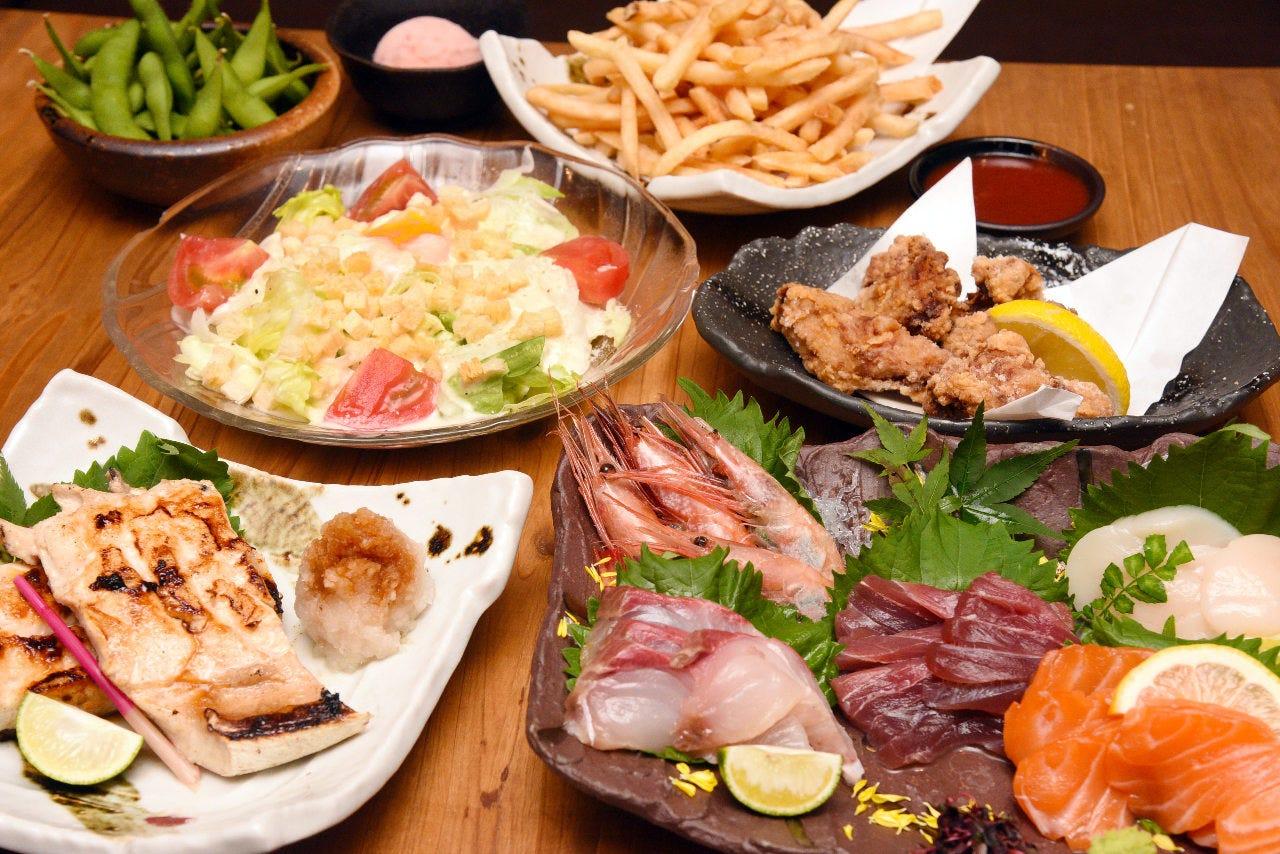 Gotoイート!海鮮料理がメインの贅沢三昧コースございます♪