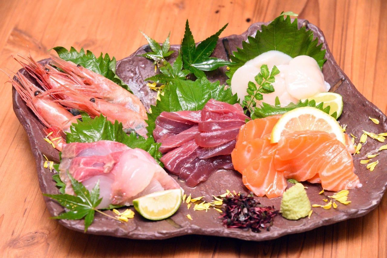 ◆独自ルートで仕入れた鮮魚