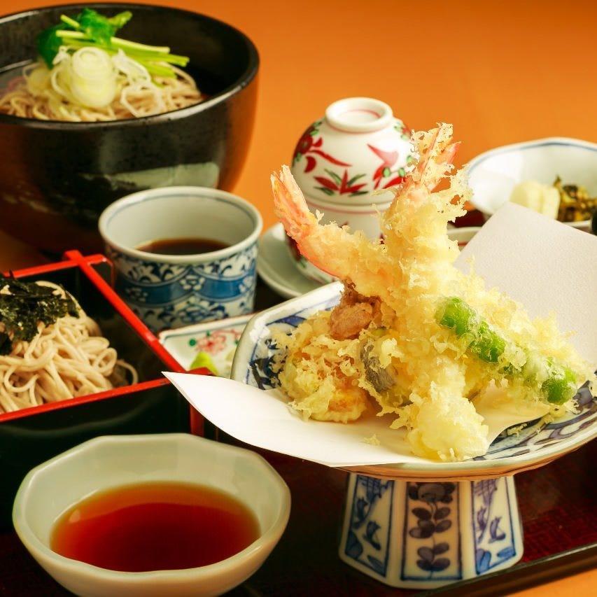 蕎麦といただく日本料理の代表格『天ぷら』は料理人の腕がわかる