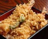 サクサクっ! 自慢の天ぷらをお重で。