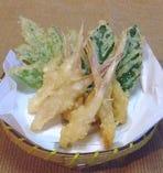 谷中生姜天ぷら