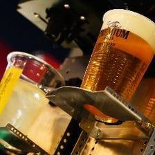 【テラス席限定】自分で好きなだけ注げるビールバー60分税込1,100円【ニューノーマル飲放題】