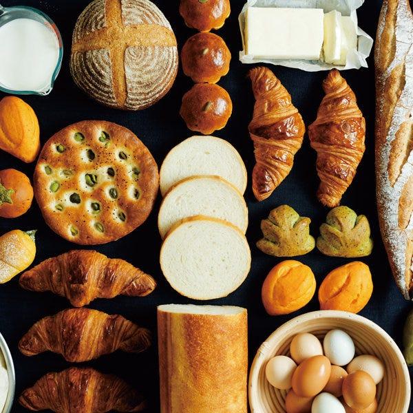大島バターと牛乳を使ったパンが人気