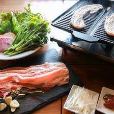 豚バラ肉の韓国風焼肉 1人前