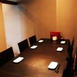 【個室完備】接待やご友人とのお食事にも最適です。