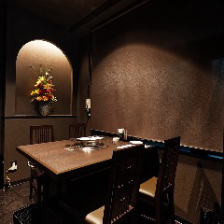 洗練された空間でお食事を満喫