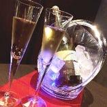誕生日や記念日をスパークリングワインでお祝い