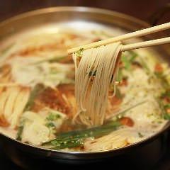 〆の博多麺