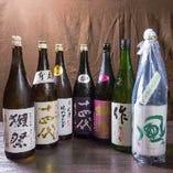日本酒堪能コース 2時間飲み放題付き 7品 6480円(税込み)地酒20種飲み放題付き