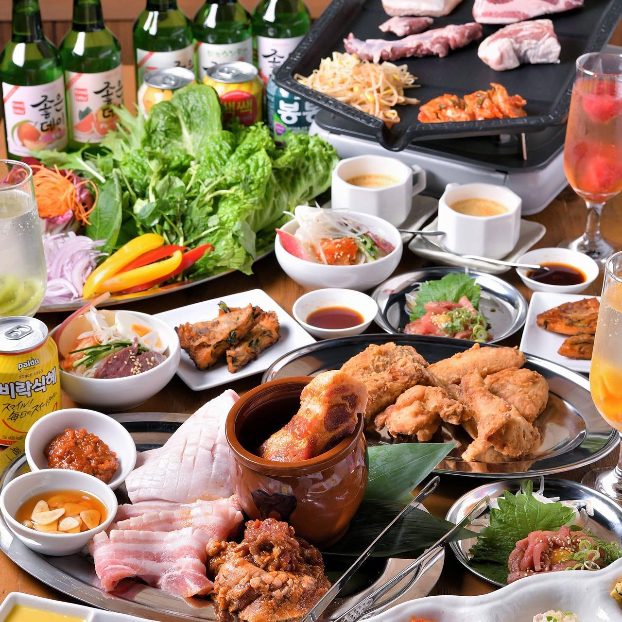 韓国食堂 ジョンマッテン