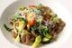 ライ麦のオレキエッティドライトマトとたっぷり自慢野菜のソース