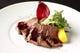 牛肉のタリアータ 赤ワインソース