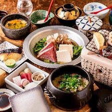 本格和食コースは3,000円(税抜)~