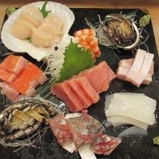 毎朝築地から仕入れた鮮魚をご提供!!