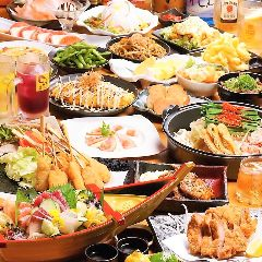 名物もつ鍋×食べ飲み放題 のりを阪急淡路駅前店