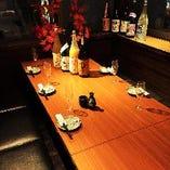 テーブル個室2名様~25名様シーンによって変更して下さい!