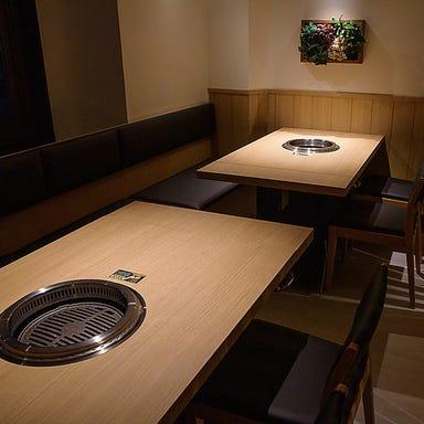 【個室×焼肉食べ放題 焼肉みなほっ】  店内の画像