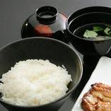 【お食事】ご飯・きも吸・香の物