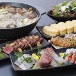 おまかせコース2,000円(税抜)~ご提供!旬の食材に舌鼓◎